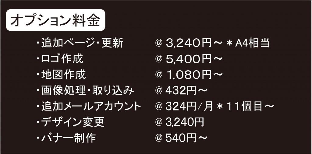 HPオプション料金